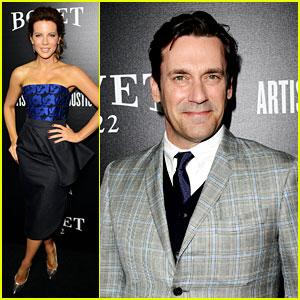 Kate Beckinsale & Jon Hamm: Hollywood Domino Gala 2014!