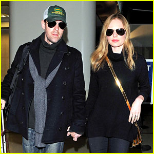 Kate Bosworth Heads Home After Quick Fashion Week Trip