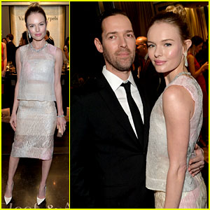 Kate Bosworth & Michael Polish Celebrate Van Cleef & Arpels!