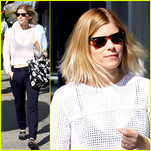 Kate Mara Steps Out After Binging 'House of Cards' Season 2