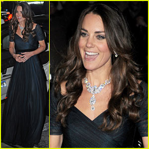Kate Middleton Makes First Official Appearance in 2014 at the Portrait Gala!