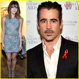 Colin Farrell & Katharine McPhee Show Support at the Elizabeth Taylor AIDS Benefit
