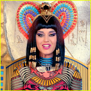 Katy Perry's 'Dark Horse' Video Premiere: Meet Katy-Patra! (Watch Now!)