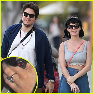 Katy Perry & John Mayer: Engagement Rumors Swirl After Ring Spotted on THAT Finger