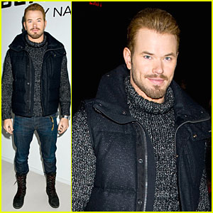Kellan Lutz: Black Sail By Nautica Fashion Show!
