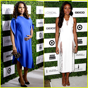 Kerry Washington Embraces Her Baby Bump at Essence Event!