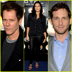 Kevin Bacon & Josh Lucas Party at Bud Light Hotel Over Super Bowl Weekend!