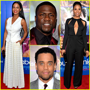 Kevin Hart & Joy Bryant: 'About Last Night' Hollywood Premiere!