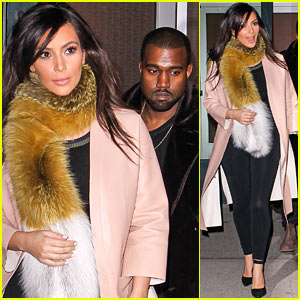 Kim Kardashian & Kanye West Step Out Before New 'KUWTK' Airs!