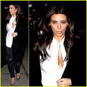 Kim Kardashian Stays in NYC While Kanye West Continues Tour