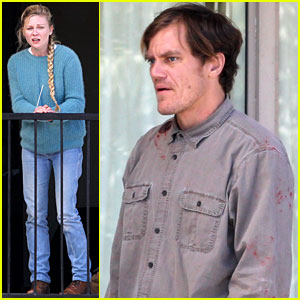Kirsten Dunst & Michael Shannon Film Bloody & Tearful 'Midnight Special' Scenes