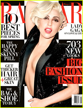 Lady Gaga Reveals to 'Harper's Bazaar': I Was Very Depressed at the End of 2013
