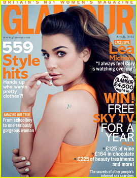 Lea Michele Feels Cory Monteith's Presence, Had Plans to Have Kids & Grow Old Together