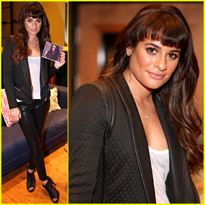 Lea Michele Previews 'Louder' at Album Listening Party!