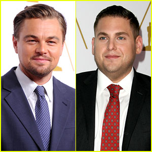 Leonardo DiCaprio & Jonah Hill Bring 'Wall Street' to Oscars Nominees Luncheon 2014!