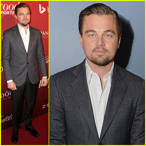 Leonardo DiCaprio: THR's Nominees Night Party 2014!