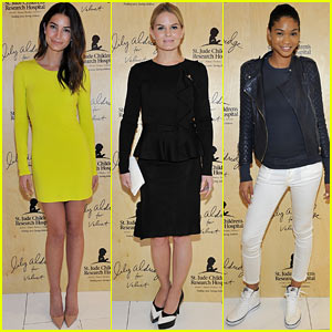 Lily Aldridge Launches Velvet Collection Surrounded by Celebrity Pals!