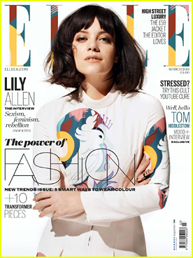 Lily Allen Talks Almost Retiring with 'Elle UK' March 2014