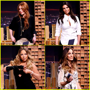 Lindsay Lohan, Kim Kardashian, & More Surprise Jimmy Fallon for 'Tonight Show' Debut!