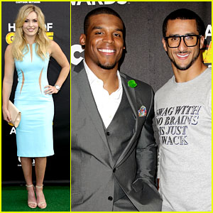 Lindsey Vonn & Colin Kaepernick: Hall of Game Awards 2014!