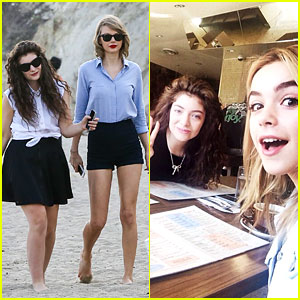 Lorde Gets Breakfast with Kiernan Shipka After Beach Day with Taylor Swift!