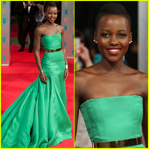 Lupita Nyong'o - BAFTAs 2014 Red Carpet