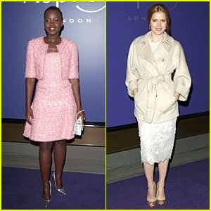 Lupita Nyong'o & Amy Adams: BAFTAs Nominees Party 2014!