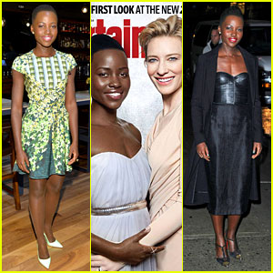 Lupita Nyong'o Covers 'EW' Oscars Issue with Cate Blanchett!