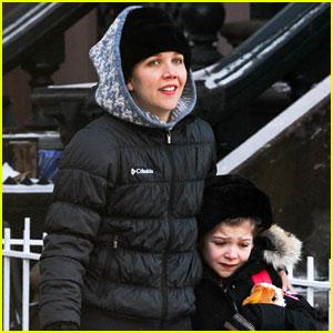 Maggie Gyllenhaal: New York Weather is Bringing Me Down!