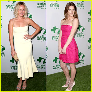 Malin Akerman & Ashley Greene: Global Green's Pre-Oscars 2014 Party!