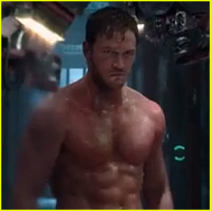 Marvel Debuts 'Guardians of the Galaxy' 15-Second Trailer Featuring Shirtless & Ripped Chris Pratt!