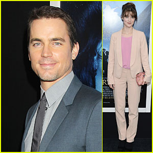 Matt Bomer & Lucy Griffiths: 'Winter's Tale' NYC Premiere!