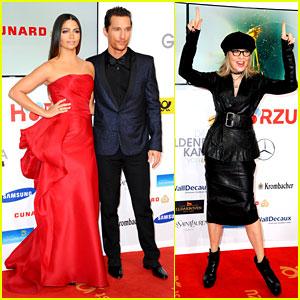 Matthew McConaughey & Camila Alves: Picture Perfect Pair at Goldene Kamera Awards!