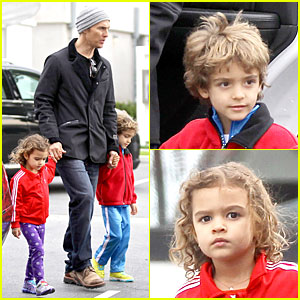 Matthew McConaughey: 'Lego Movie' Showing with the Kids!