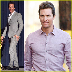 Matthew McConaughey Talks 'True Detective' on 'Jimmy Kimmel Live!'
