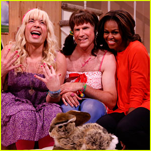 Michelle Obama: 'Ew' Sketch with Jimmy Fallon & Will Ferrell! (Video)