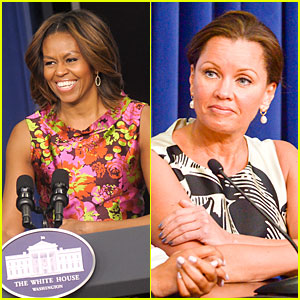Michelle Obama & Vanessa Williams: 'Trip To Bountiful' Screening!