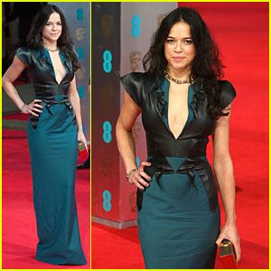 Michelle Rodriguez - BAFTAs 2014 Red Carpet