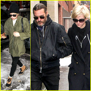 Michelle Williams Visits Mimi O'Donnell's Apartment