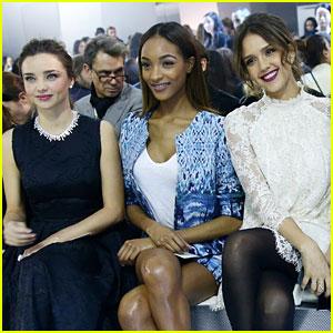 Miranda Kerr & Jessica Alba: H&M Paris Fashion Show!