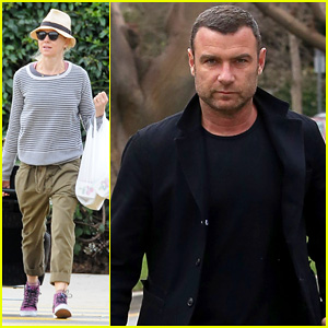 Naomi Watts & Liev Schreiber: Separate Sunday Outings!