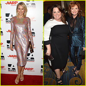 Naomi Watts & Melissa McCarthy: AARP Movies for Grownups Awards!