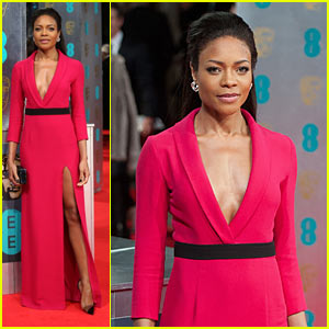 Naomie Harris - BAFTAs 2014 Red Carpet