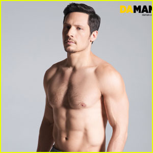 Shirtless Nick Wechsler Flashes Abs for 'Da Man' Magazine!