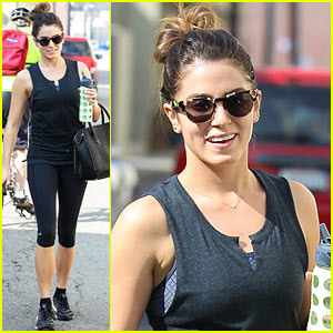 Nikki Reed Hits the Gym After Working Hard on Upcoming LP!
