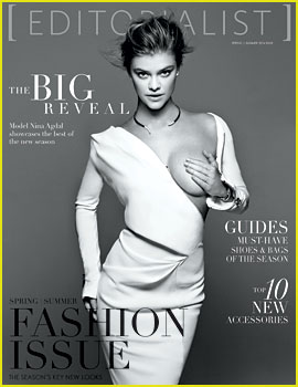 Nina Agdal Holds Boob in Her Hand for 'Editorialist' Mag Cover!