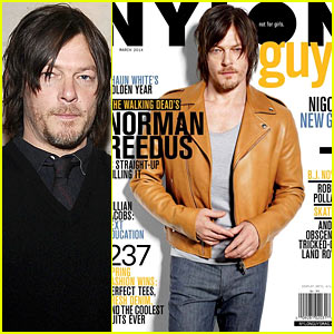 Norman Reedus to 'Nylon Guys': 'I Was Born to Play the Bad Guy'
