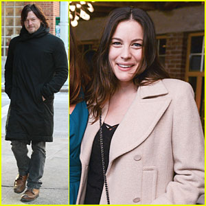 Norman Reedus & Liv Tyler: Helena Christensen's Photo Exhibition!