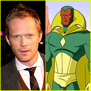 Paul Bettany is The Vision for 'The Avengers: Age of Ultron'!