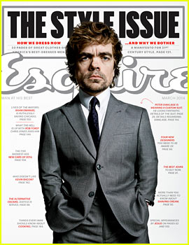 Peter Dinklage Suits Up for 'Esquire' March 2014